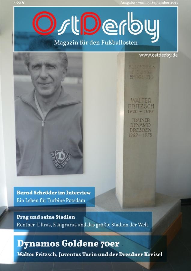 OstDerby Ausgabe 3 - Titelseite