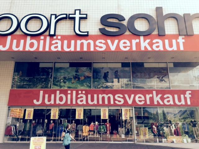 Kletterausrüstung Ulm : Lagerverkauf sport sohn in neu ulm u2013 sportinsider