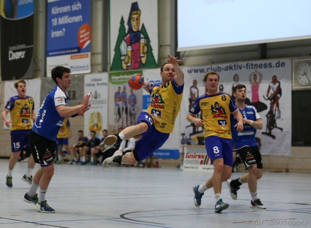 Handball 3. Liga HSG Konstanz - VFL Pfullingen 26:19